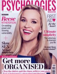 PSYCHOLOGIES Magazine Georgina Probert Writing Writer Journalist Journalism Editing Copy Proofreading Sevenoaks Kent London South East